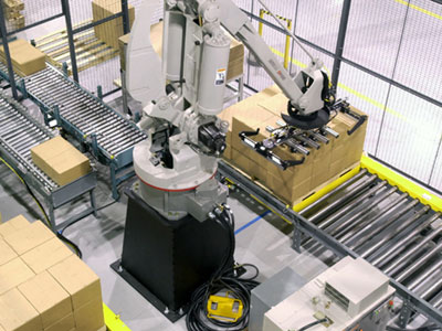 Robotic De-Palletizer